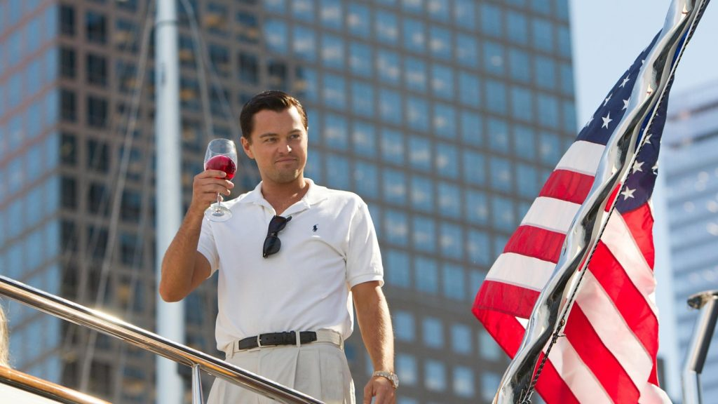 Leonardo DiCaprio in The Wolf of Wall Street // Credit: Paramount Pictures