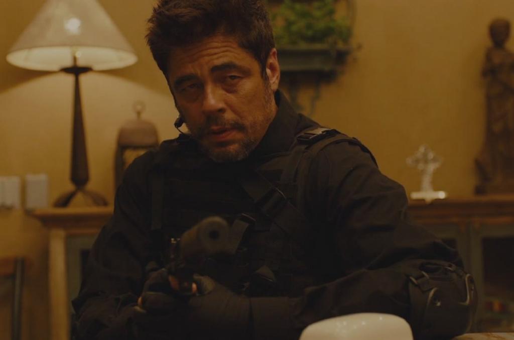 Benicio Del Toro in Sicario // Credit: Lionsgate