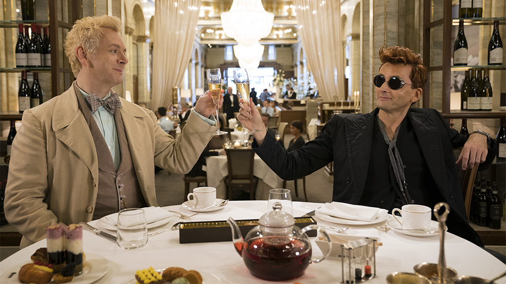 Aziraphale and Crowley - Good Omens