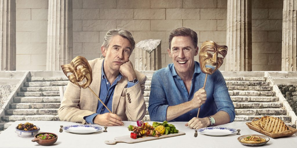 Steve Coogan and Rob Brydon as Steve Coogan and Rob Brydon in The Trip To Greece