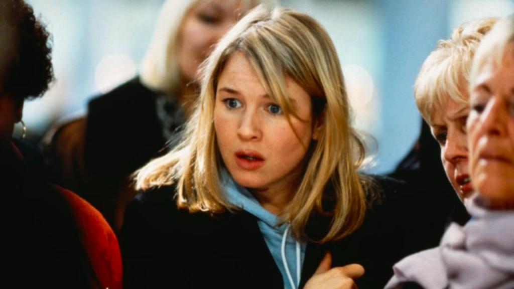 Renée Zellweger as Bridget Jones in Bridget Jones's Diary