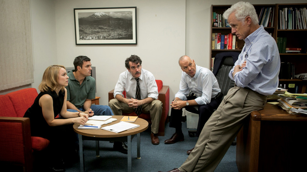The best picture winner that surprised everyone, Spotlight [Source: Film Comment]