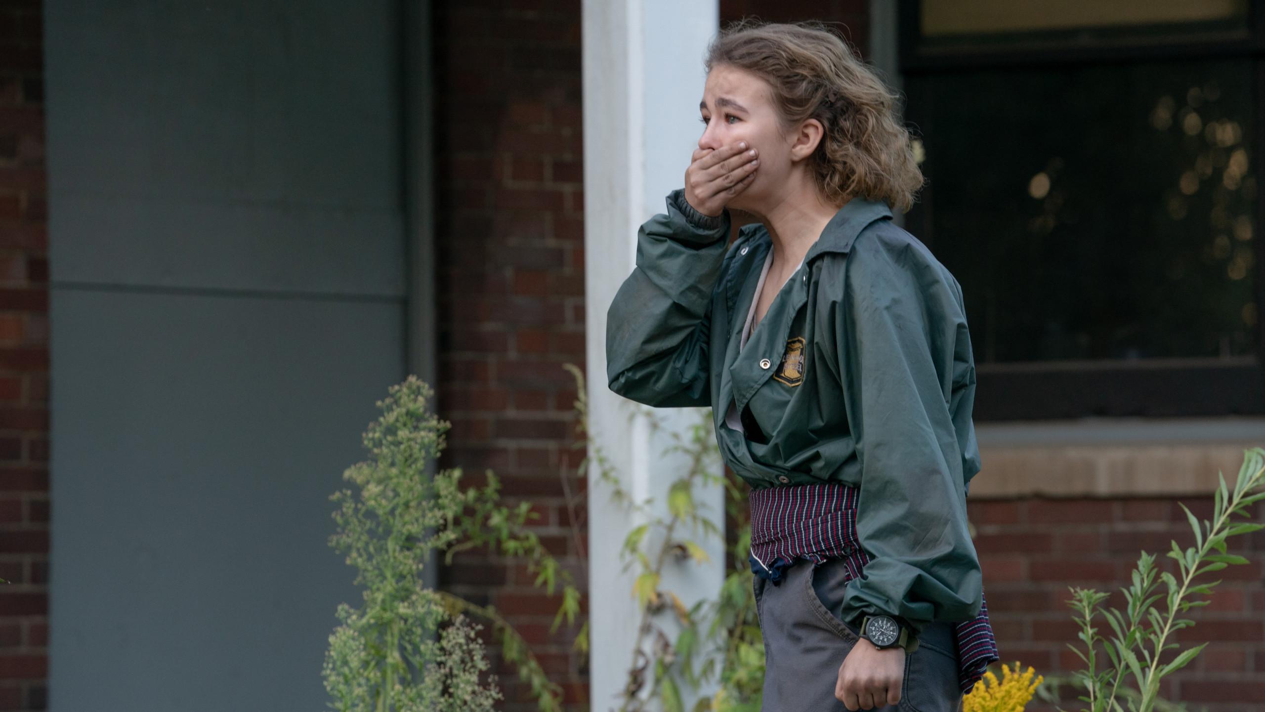 Millicent Simmonds as Regan in A Quiet Place Part II
