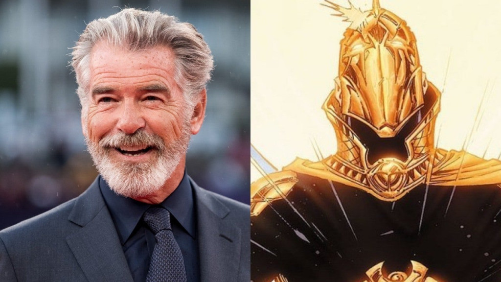 Pierce Brosnan will be playing Doctor Fate