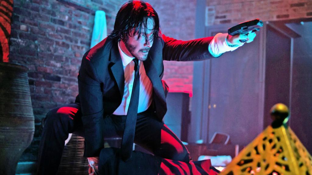 Keanu Reeves as John Wick // Credit: Lionsgate
