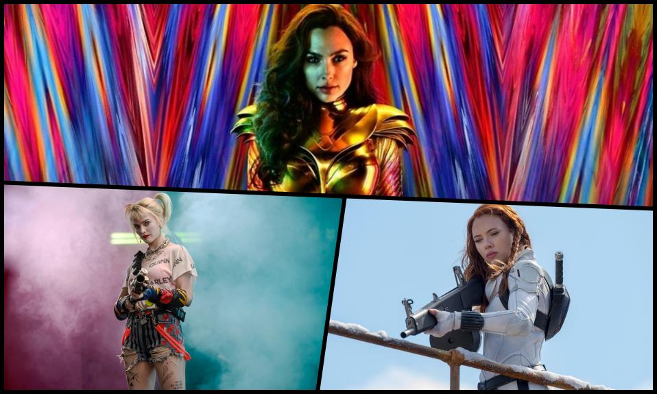 Female Superhero Collage