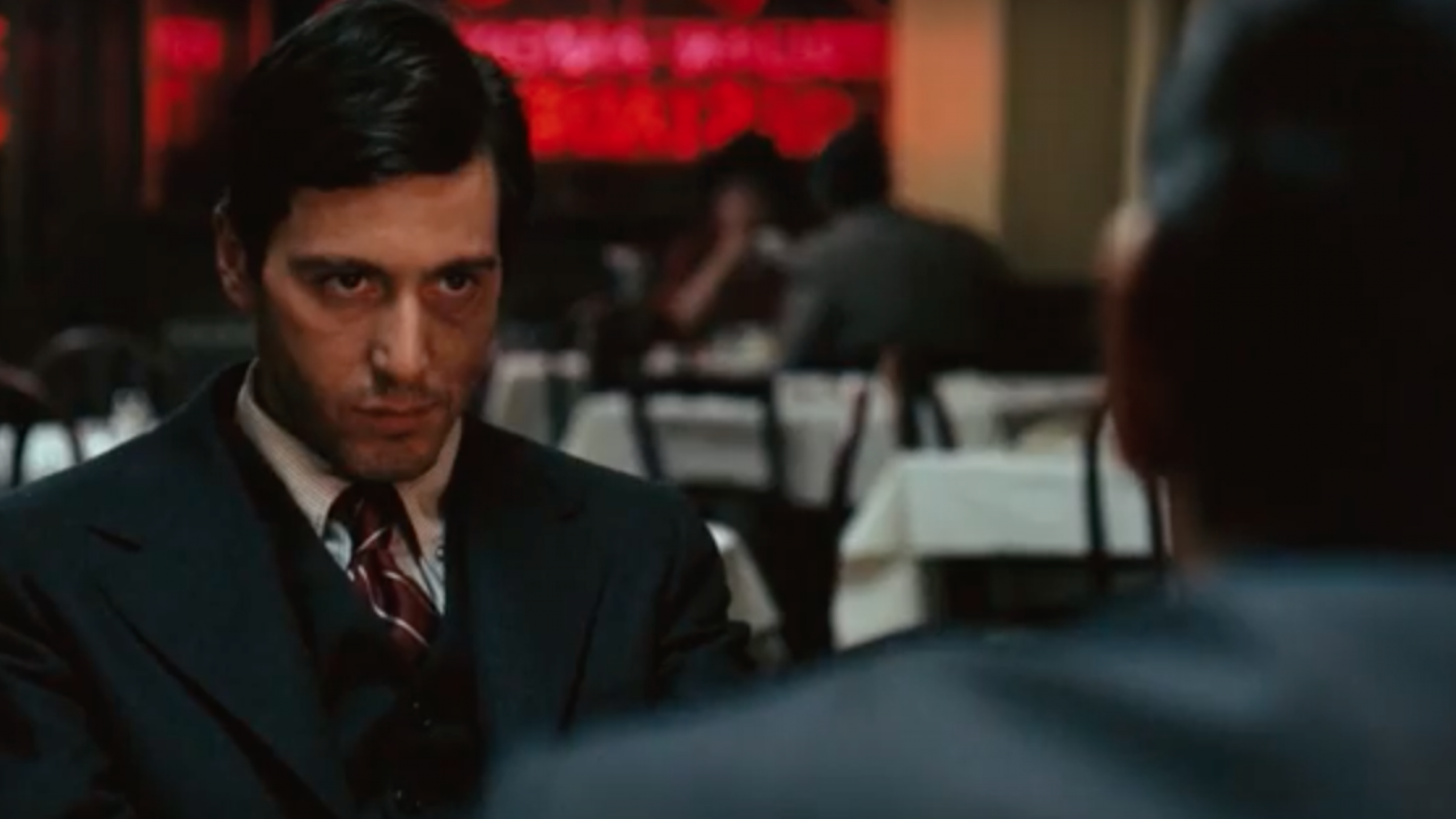 Godfather - Restaurant Scene